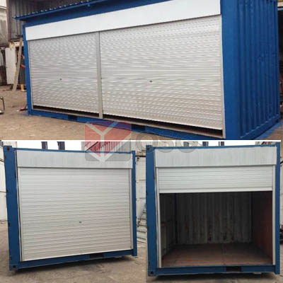 Container Customization - Roller Shutter