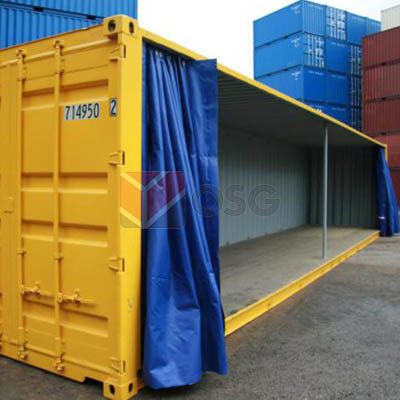 Container Customization - Side Opening Tarpauline