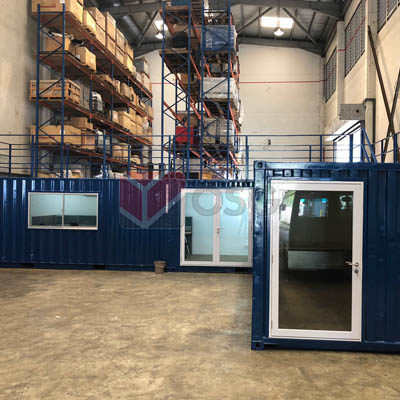 Container customization - Warehouse office