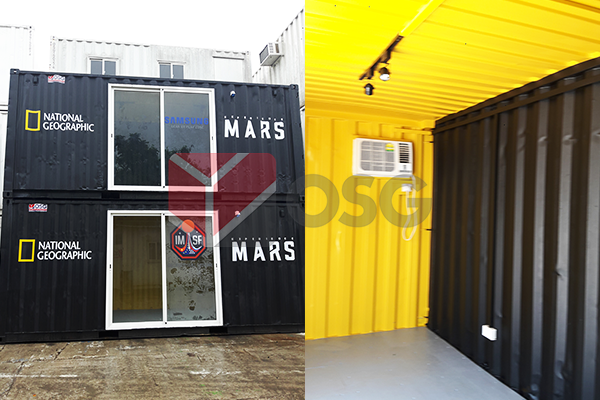 container paint, container repair, container add-on, container customisation, container modification