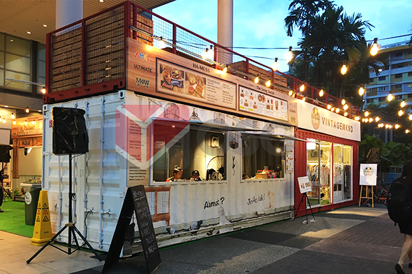 Pop Up Container For Shops Cafe Kitchen Amp Bar Osg