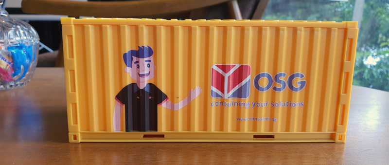 Osg Container Tissue Box Cover
